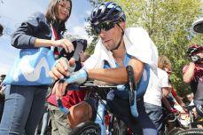 Cycling: Vuelta España 2019 / Tour of Spain 2019/ La Vuelta/ Etapa 17/ Stage 17/ Celebration / Celebración / OLIVEIRA Nelson (POR) / Aranda de Duero - Guadalajara (219,6 km) 11-09-2019/ Vuelta España 2019 / La Vuelta/ Tour of Spain 2019/ Luis Angel Gomez ©PHOTOGOMEZSPORT2019